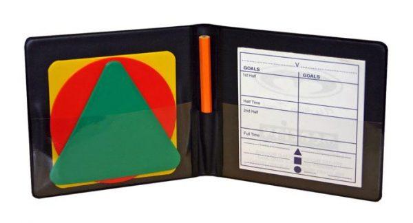 Mercian Warning Cards & Score Pad in Wallet